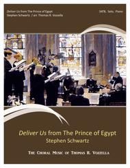Deliver Us from Prince of Egypt (SATB)