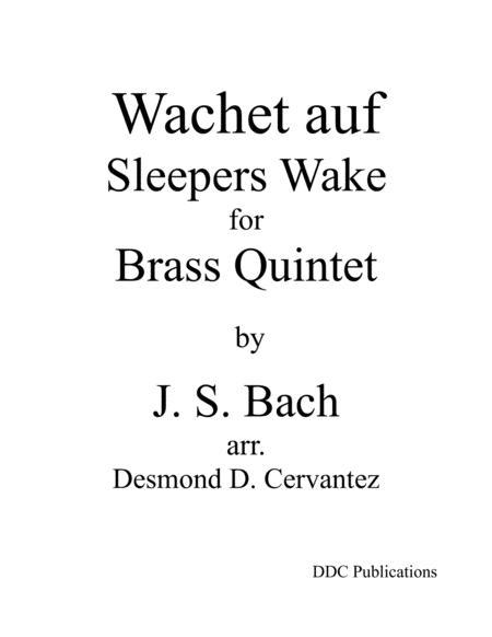 Wachet auf, Sleepers Wake