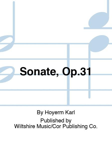 Sonate, Op.31