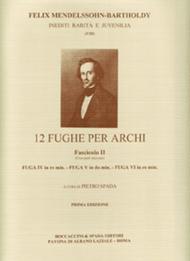 12 Fughe Per Archi Fascicolo II