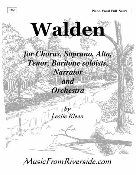 WALDEN - The complete piano-vocal score