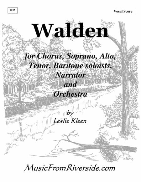 WALDEN - Vocal Score for chorus and Solos