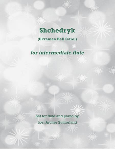 Shchedryk (Ukranian Bell Carol) for flute and piano