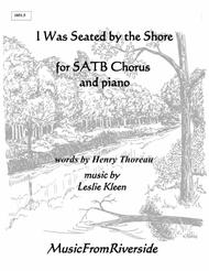 I Was Seated for SATB Chorus and piano