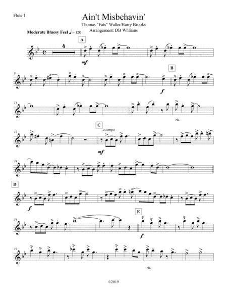 Ain't Misbehavin' (Flute 1)