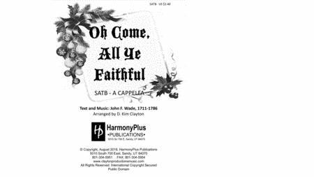 Oh Come, All Ye Faithful