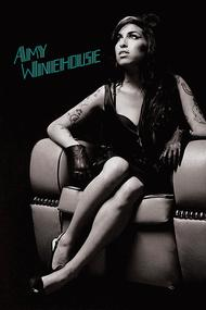 Amy Winehouse: Chair - Wall Poster