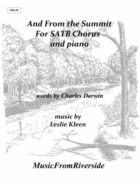 And From the Summit for SATB Chorus and piano