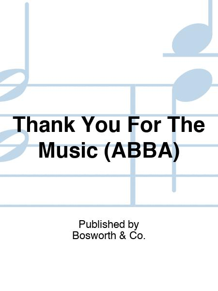 Thank You For The Music (ABBA)