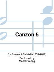 Canzon 5