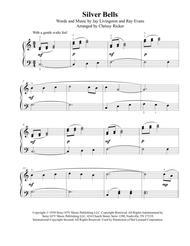 Silver Bells - easy piano