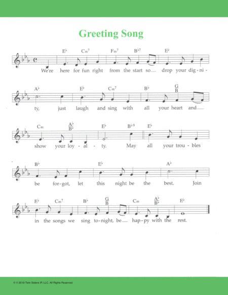 Greeting Song