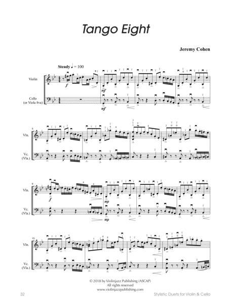 Tango Eight (violin-cello)