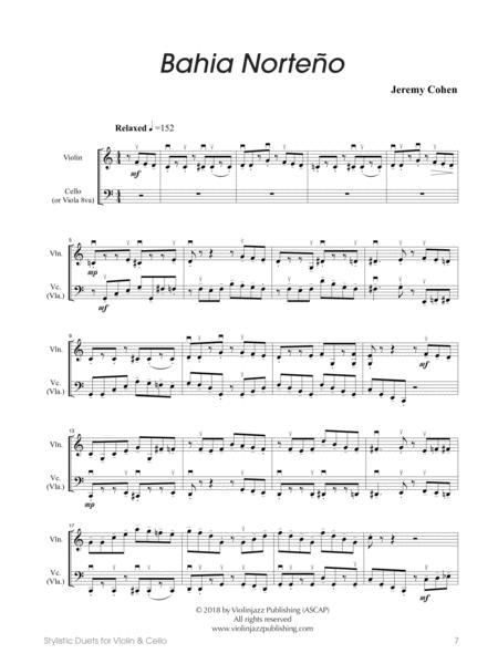 Bahia Norteño (violin-cello)