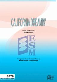 California Dreamin' (SATB + Piano)