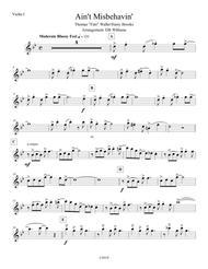 Ain't Misbehavin' (Violin 1)