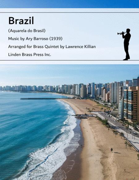 Brazil for Brass Quintet