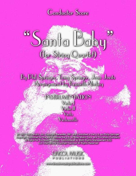Santa Baby (for String Quartet)