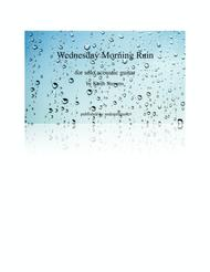 Wednesday Morning Rain