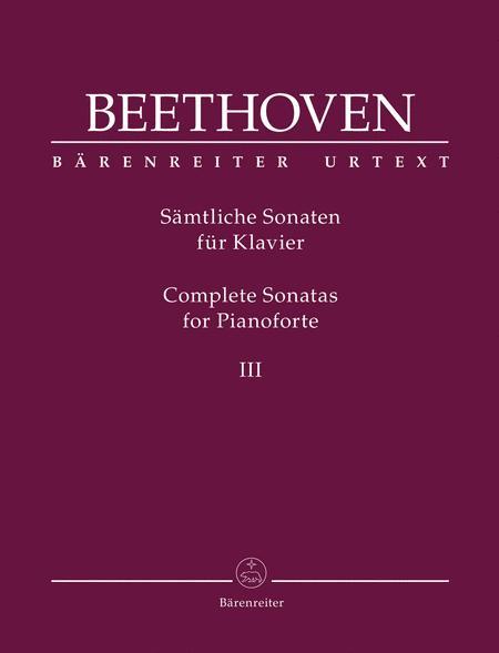 Complete Sonatas for Pianoforte III