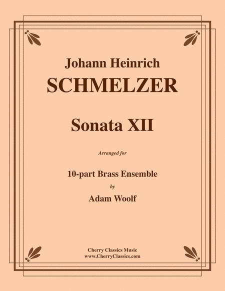 Sonata XII for 10-part Brass Ensemble