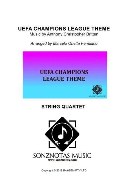 uefa champions league theme string quartet score and parts by digital sheet music for score set of parts download print h0 639315 sc003690437 sheet music plus sheet music plus