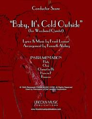 Baby, It's Cold Outside (for Woodwind Quintet)