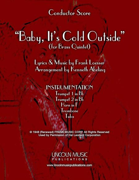 Baby, It's Cold Outside (for Brass Quintet)