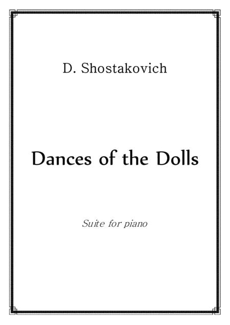 Shostakovich - Dolls' Dances - piano solo