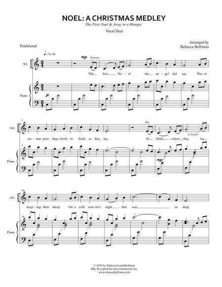 Noel: A Christmas Medley (Vocal Duet)