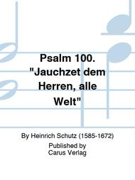 Psalm 100.