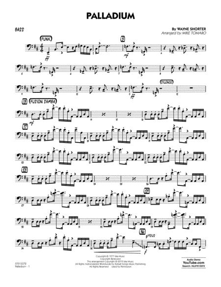 Palladium (arr. Mike Tomaro) - Bass