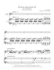 Ah! Douce enfant (La Fée's aria) from Cendrillon - La Fée-Only Audition Cut