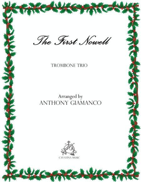 The First Nowell (Trombone trio)