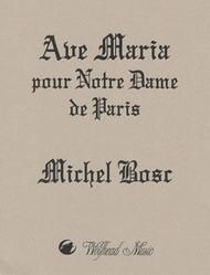 Ave Maria pour Notre Dame de Paris