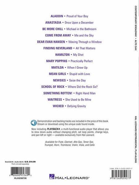 12 Pop Balladen Play-Along Tenor Sax Tenor-Saxofon Noten mit Download Code