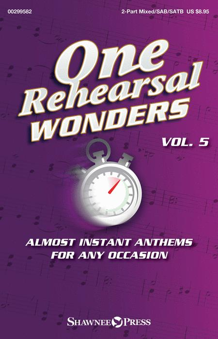 One Rehearsal Wonders, Volume 5