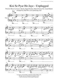 Kisi Se Pyar Ho Jaye - Unplugged