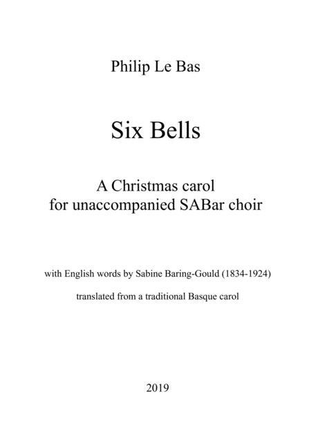 Six Bells for SABar choir