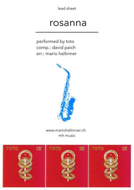 Rosanna - TOTO - Tenor Sax