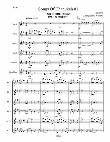 Songs Of Chanukah #1 (Flute Choir)
