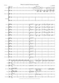 I Wish It Could Be Christmas Every Day - Vocal with optional Children's Choir or SATB Choir and Big Band Key of D