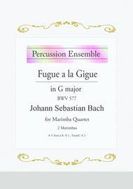 Fugue a la Gigue in G major BWV 577