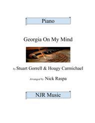 Georgia On My Mind - jazz piano