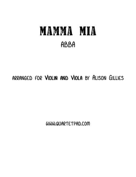 Mamma Mia - Violin and Viola Duet