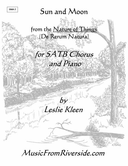 Sun and Moon for SATB Chorus and Piano