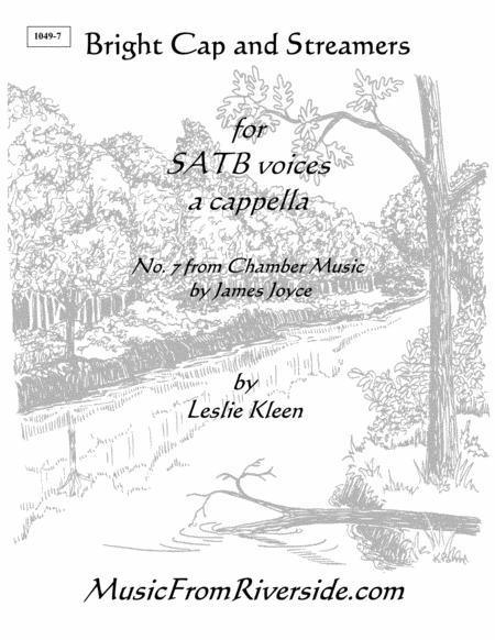 Bright Cap and Streamers for SATB a cappella