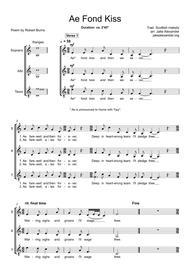 Ae Fond Kiss - SAT