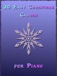 20 Easy Christmas Carols for Piano