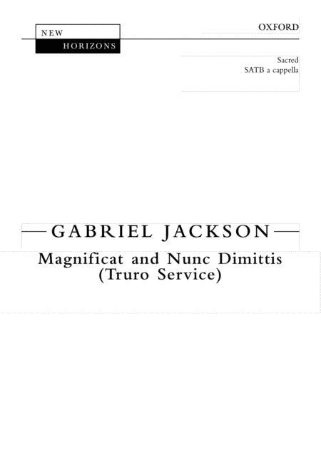 Magnificat and Nunc Dimittis (Truro Service)
